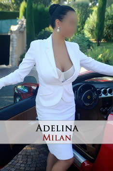 VIP busty escort in Milan